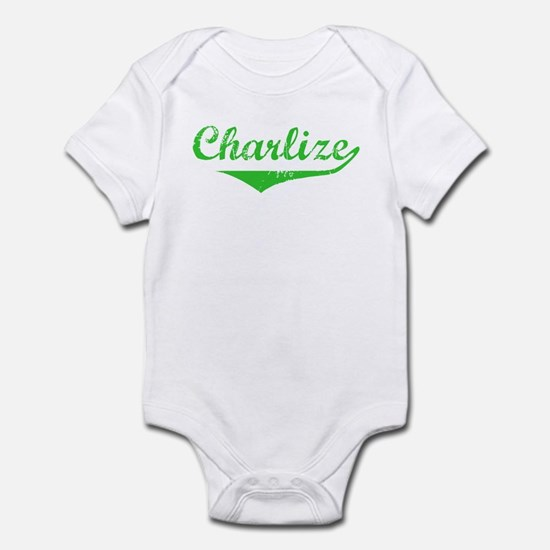 Charlize Vintage (Green) Infant Bodysuit