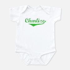 Charlize Vintage (Green) Onesie