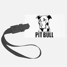 Pitbull Vector Luggage Tag