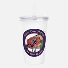 Save Our Home: Sea Tur Acrylic Double-wall Tumbler
