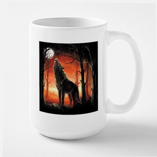 Howling Wolf Mugs