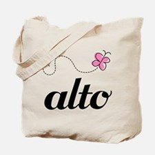Cute Alto Music Tote Bag