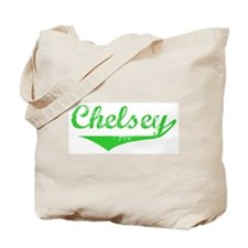 Chelsey Vintage (Green) Tote Bag