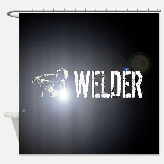 Welding: Stick Welder Shower Curtain