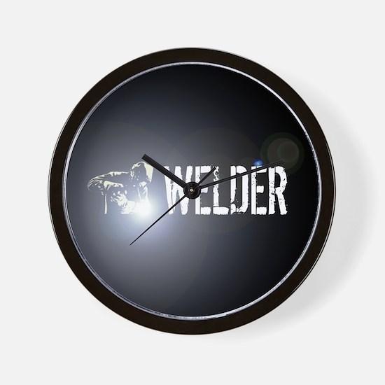Welding: Stick Welder Wall Clock