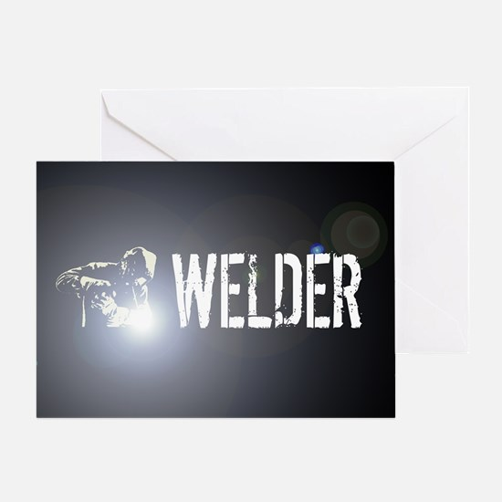 Welding: Stick Welder Greeting Card