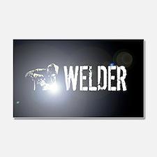 Welding: Stick Welder Car Magnet 20 x 12