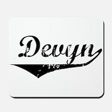 Devyn Vintage (Black) Mousepad
