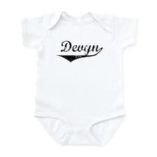 Devyn Vintage (Black) Infant Bodysuit