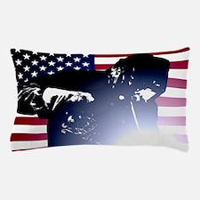 Welding: Welder & American Flag Pillow Case
