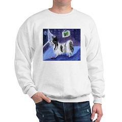 PAPILLON moon design Sweatshirt