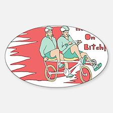 Recumbent Bike Decal
