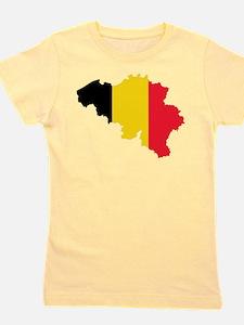 Unique Belgium flag Girl's Tee