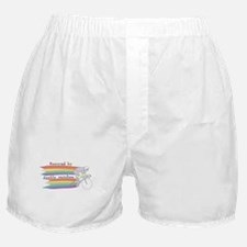 Powered By Double Rainbow Boxer Shorts