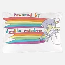 Powered By Double Rainbow Pillow Case