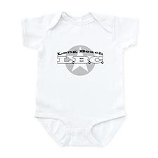 Long Beach Star Infant Bodysuit