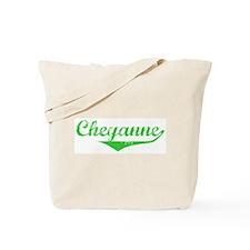 Cheyanne Vintage (Green) Tote Bag
