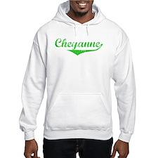 Cheyanne Vintage (Green) Hoodie Sweatshirt