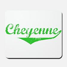 Cheyenne Vintage (Green) Mousepad