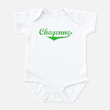 Cheyenne Vintage (Green) Onesie