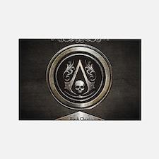 Unique Assassins creed Rectangle Magnet