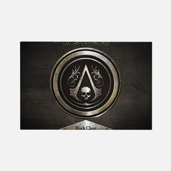 Cute Assassins creed Rectangle Magnet