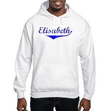 Elisabeth Vintage (Blue) Hoodie Sweatshirt