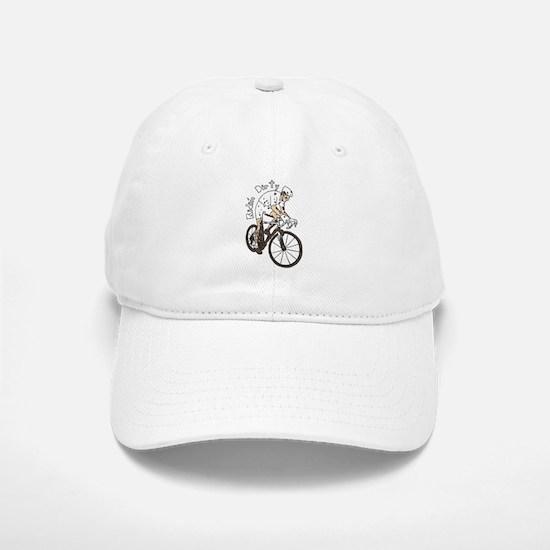 Cyclocross Rider Riding Dirty Baseball Baseball Cap