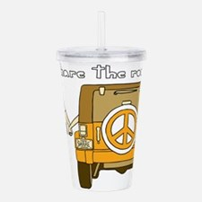 Share The Road Acrylic Double-wall Tumbler