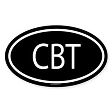 CBT Oval Decal