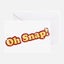 Vintage Oh Snap Greeting Card
