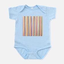 Watercolor Stripes Body Suit