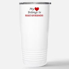 My Heart Belongs to Bea Stainless Steel Travel Mug