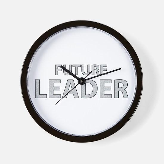 Future Leader Wall Clock