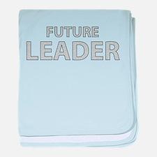 Future Leader baby blanket