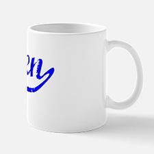 Ellen Vintage (Blue) Mug