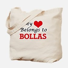 My Heart Belongs to Bollas Tote Bag