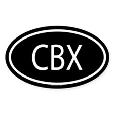 CBX Oval Decal