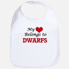 My Heart Belongs to Dwarfs Bib