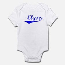 Elyse Vintage (Blue) Infant Bodysuit