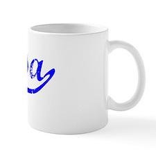 Elyssa Vintage (Blue) Small Mug