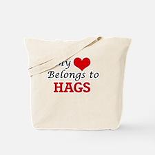 My Heart Belongs to Hags Tote Bag