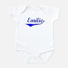 Emilie Vintage (Blue) Infant Bodysuit