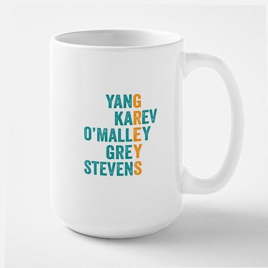 Grey's Anatomy Vertical. Mugs