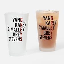 Grey's Anatomy Vertical. Drinking Glass