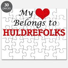 My Heart Belongs to Huldrefolks Puzzle
