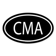 CMA Oval Decal