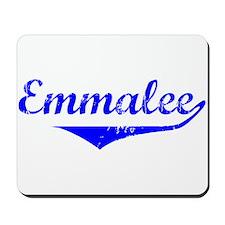Emmalee Vintage (Blue) Mousepad