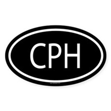 CPH Oval Decal