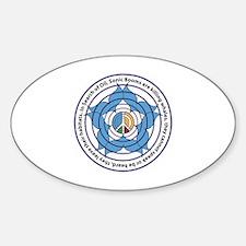 Cute Dependent Sticker (Oval)